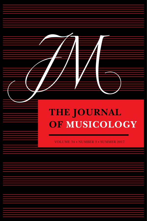 """Reconsidering Josquin's Ave Maria…virgo serena."" Journal of Musicology, 34"