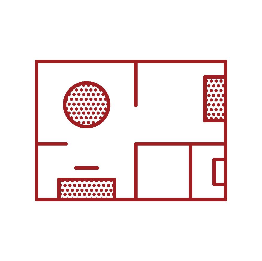 Practice Rooms & Instrument Storage