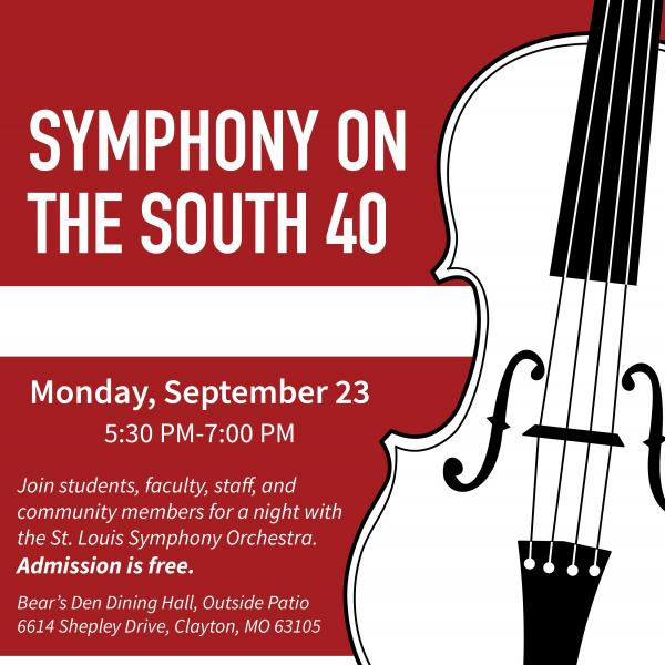 St. Louis Symphony on the South 40