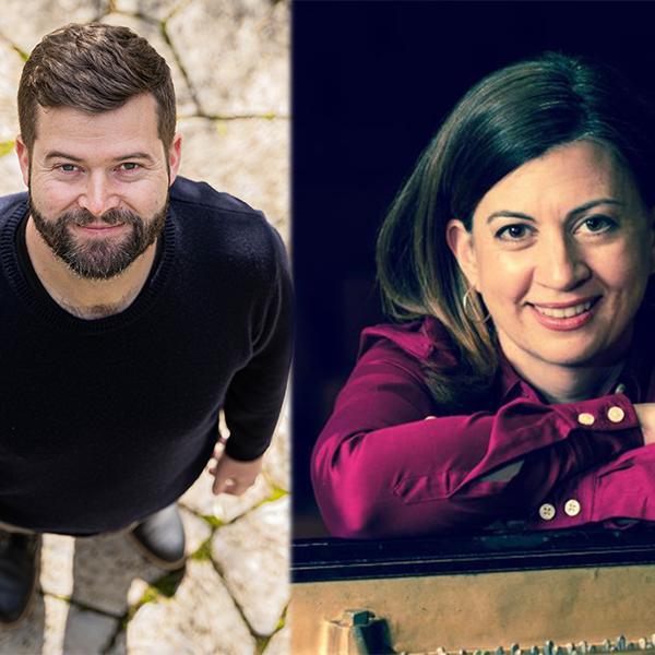 Christopher Stark, composer & Nina Ferrigno, piano receive Chamber Music America Awards