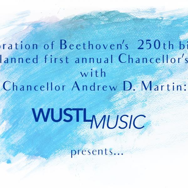 """WashU Ensembles perform Beethoven's """"Choral Fantasy"""""""