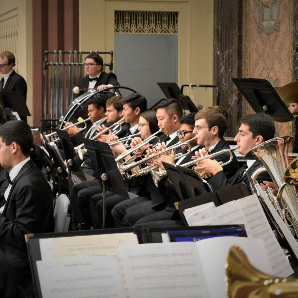 The Washington University Wind Ensemble performs Holst's Second Suite