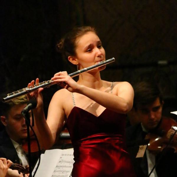 Cameron Perrin Senior Flute Recital
