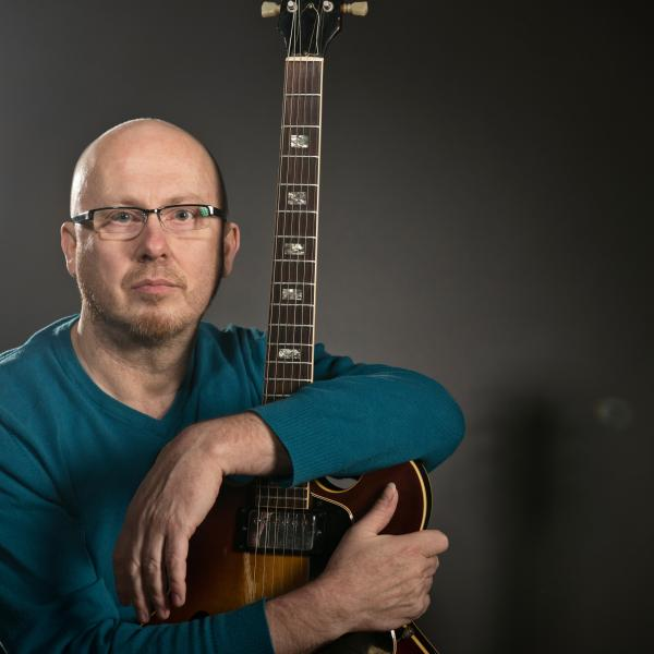 Vince Varvel, faculty recital, jazz guitar