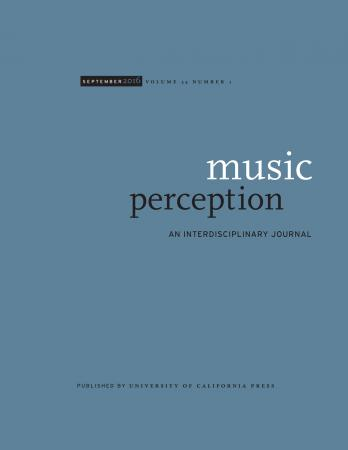 """Repetition and Prominence: The Probabilistic Structure of Melodic and Non-Melodic Lines""  Music Perception, 39/1"